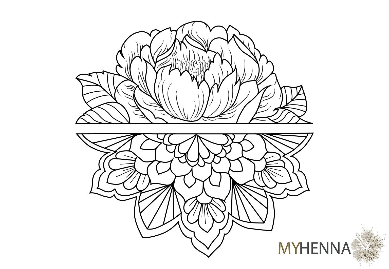 Tattoopapier Vorlagen Myhenna